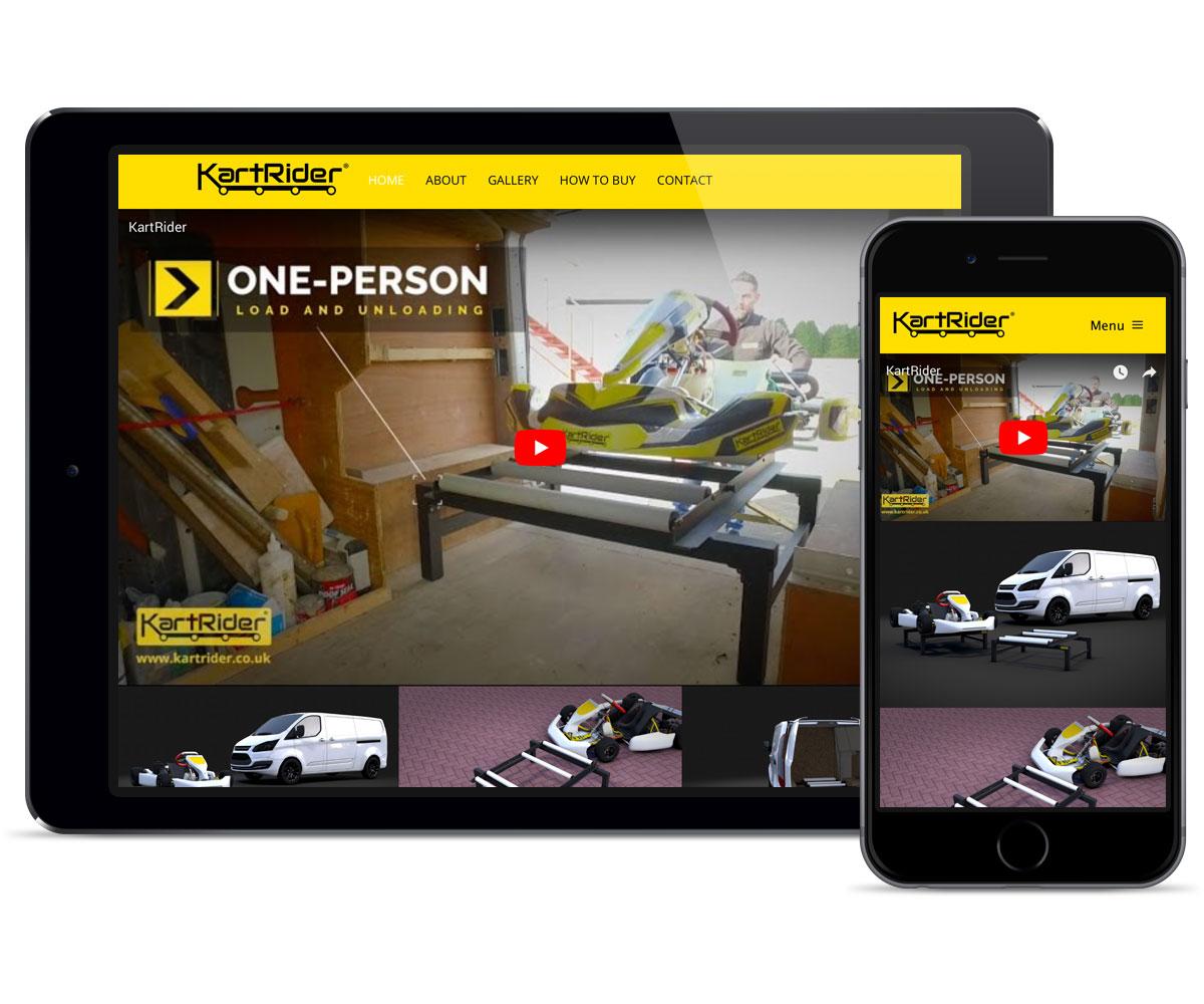 web-design-kart-rider