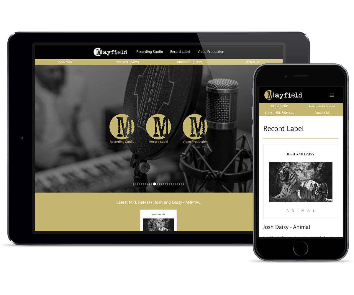 web-design-mayfield-records